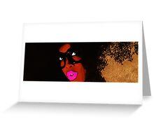 Badu Greeting Card