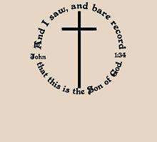 JOHN 1:34 circular Unisex T-Shirt