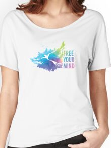 Free Your Mind - Dove Women's Relaxed Fit T-Shirt