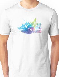 Free Your Mind - Dove Unisex T-Shirt