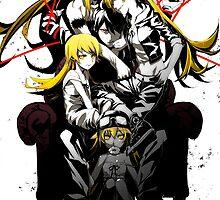 Shinobu Evo x Araragi by Revoltec17