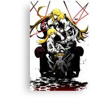 Shinobu Evo x Araragi Canvas Print