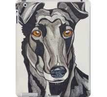 #7: Neve the Guru Greyhound: Messages from the Dogs Oracle Deck iPad Case/Skin