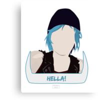 Hella! Inspired Design Canvas Print