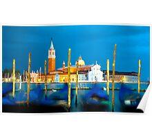 Venice Dusk Poster