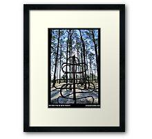 The Steel Tree (Reduex) Framed Print