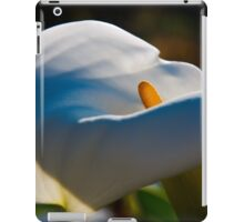 the softness of a calla iPad Case/Skin