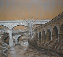 Canal Road Viaduct by Roger Stannard