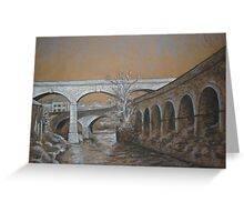 Canal Road Viaduct Greeting Card