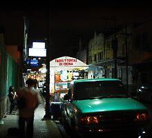 Tampico - Calle Altamira by León Felipe Guevara Chávez