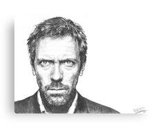 Hugh Laurie aka House Canvas Print