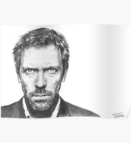 Hugh Laurie aka House Poster