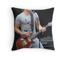 the lead Throw Pillow