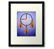 Medicine Wheel Framed Print