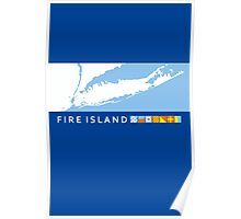 Fire Island - New York. Poster