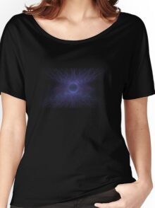 Fractal Purple Women's Relaxed Fit T-Shirt