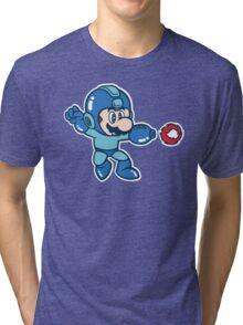 Mega Suit Tri-blend T-Shirt