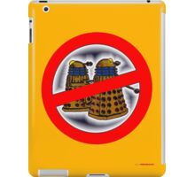 Doctor Who No Parking Sign Design iPad Case/Skin