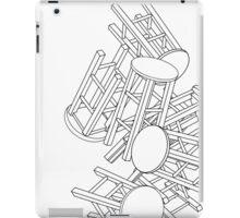 CHAIRS CHAIRS CHAIRS  iPad Case/Skin
