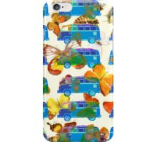 Butterflies and Surfer Vans iPhone Case/Skin