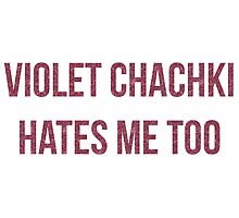 Violet Chachki Hates Me Too by mateeea