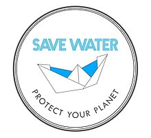Save Water Protect Your Planet Photographic Print