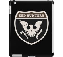 zed hunter - state of decay iPad Case/Skin