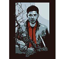 Dean Winchester Supernatural art illustration Photographic Print