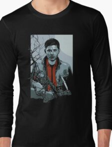 Dean Winchester Supernatural art illustration Long Sleeve T-Shirt