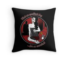 Hell's Belle Throw Pillow