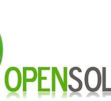 Logo Open Solutions Cameroun by Jean-Francis Ahanda