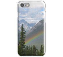 Rainbow Over Banff iPhone Case/Skin