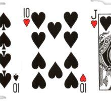 Poker Cards Sticker