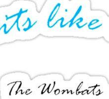 "The Wombats ""Greek Tragedy"" Sticker"