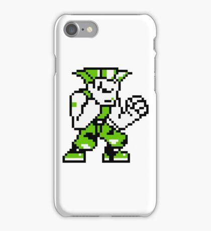Guile - Street Fighter Sprite iPhone Case/Skin