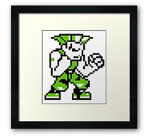 Guile (sprite) Framed Print