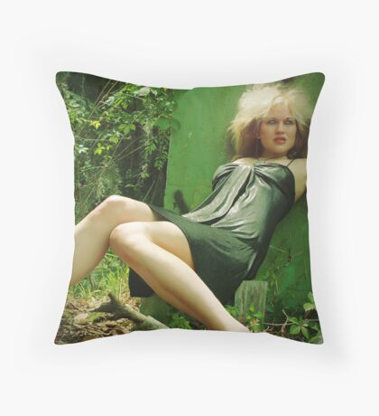 another lilly Throw Pillow