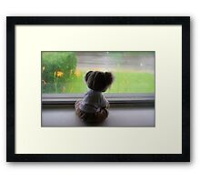 Some Days Just Feel Like Rain Framed Print