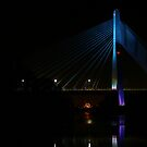 Boyne River Bridge @ Night. by Martina Fagan