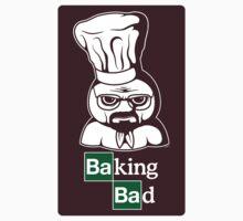 Baking Bad (STICKER) by mikehandyart