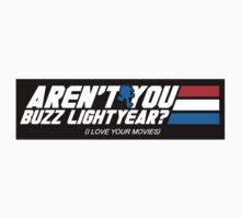 Aren't You Buzz? (STICKER) by mikehandyart