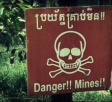 Danger Landmines by Caroline Fournier