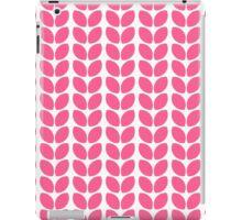 leaves - hot pink iPad Case/Skin