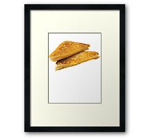 Grilled Cheeeeeeeeeeeese Framed Print