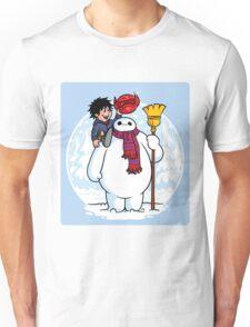 Inflatable Snowman (STICKER) Unisex T-Shirt