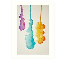 Ink Drops #2 Art Print