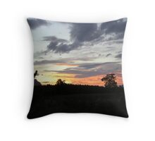 Glasshouse Sunset Throw Pillow