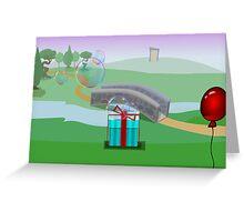 Threads of Reality screenshot Greeting Card