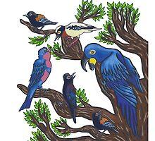 Bird Life by jmerlino