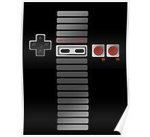 Nintendo - NES Controller Poster
